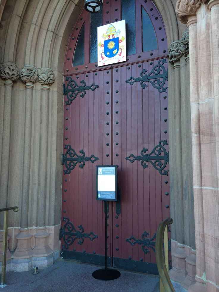 Holy Door at the Cathedral of the Immaculate Conception, Albany. #yearofmercy #mercy #jubileeyear