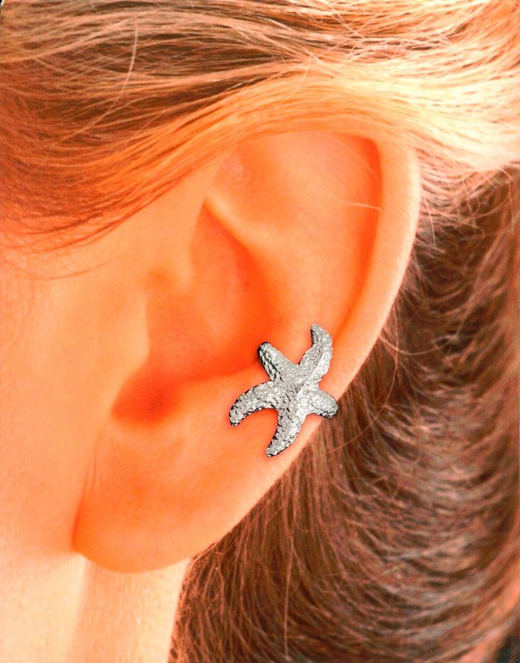 starfish ear cuff.