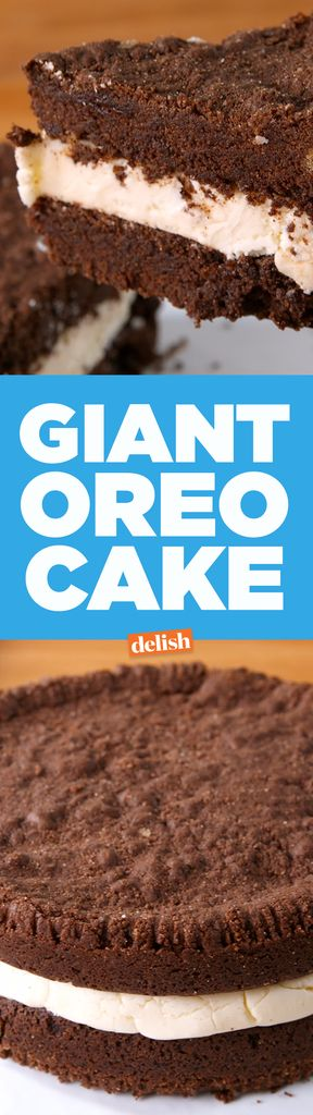 This Giant Oreo Cake Tastes Just Like America's Favorite Sandwich Cookie  - Delish.com
