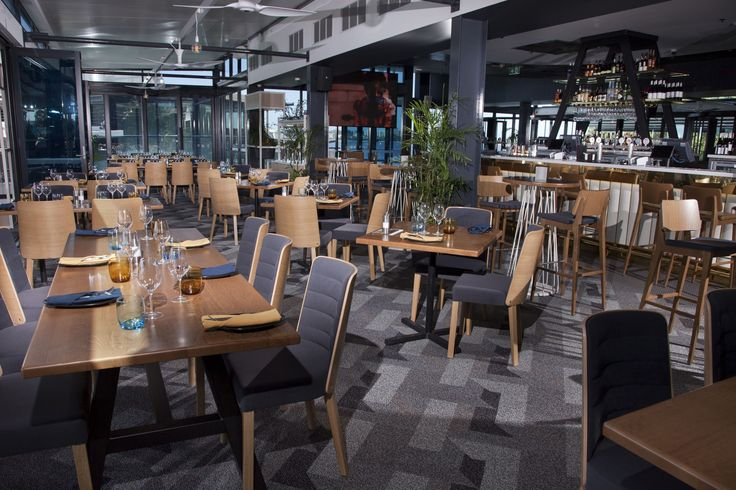 The Point Bar & Grill | Furniture Options. K3 Chairs with Timber Tables.