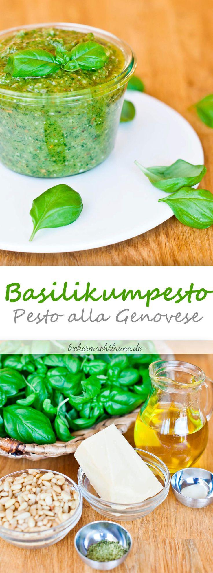 Basilikum-Pesto {pesto alla genovese}