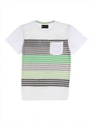 Camiseta Billabong Men's M9053BON Bond Crew Neck Shirt White #Camiseta #Billabong