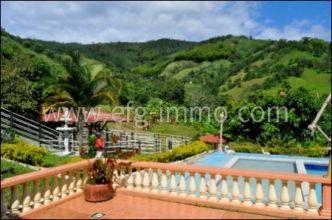 Kolumbien Immobilie Farm 25.6 ha Maracuja, Kaffee, Pool zu verkaufen, Kaufpreis wurde reduziert