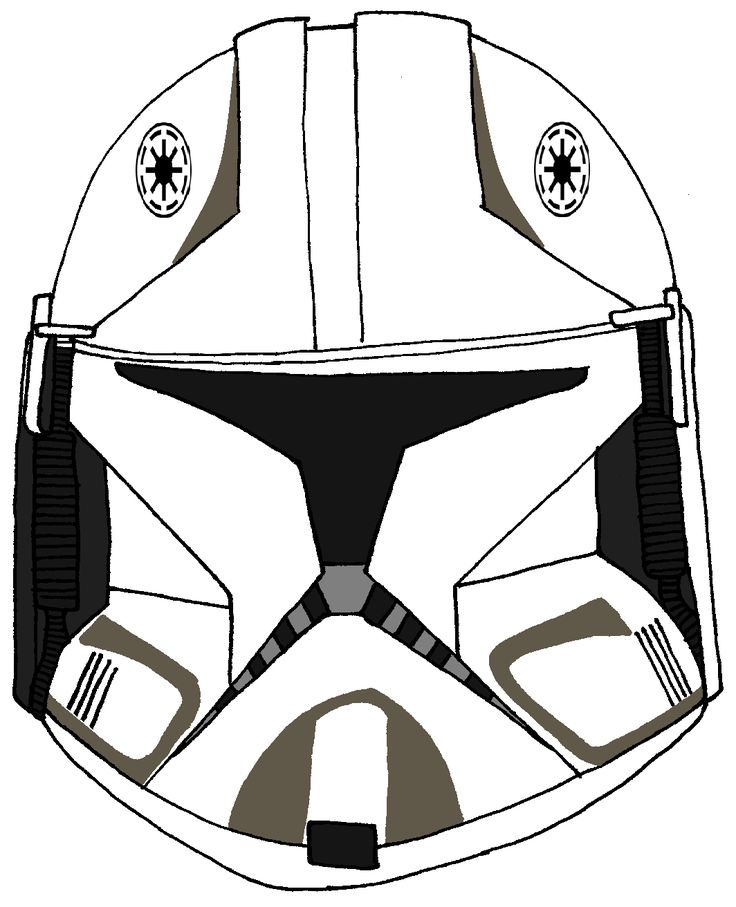 22+ Clone trooper helmet coloring pages ideas in 2021