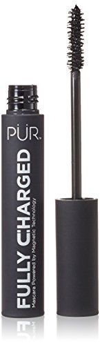 Product review for Pur Minerals Fully Charged Mascara, 0.44 Fluid Ounce / 13ml  - Opposites attract with this anti-aging mascara that has a magnetic polymer matrix that wraps a positively charged elastic veil around each lash to instantly lift, separate and define each lash for long-lasting performance.