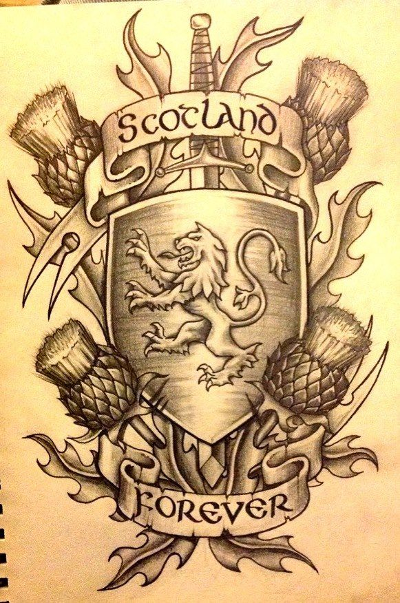 My take on scotland tattoos which are usually rush decisions