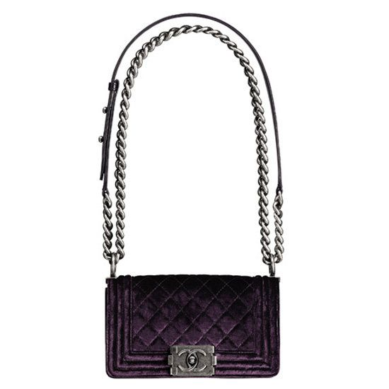 The Ultimate: Chanel Velvet Boy Bag