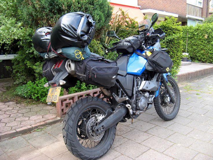 Zijtassen Yamaha XT 660 Z Tenere-Allroadmaniacs