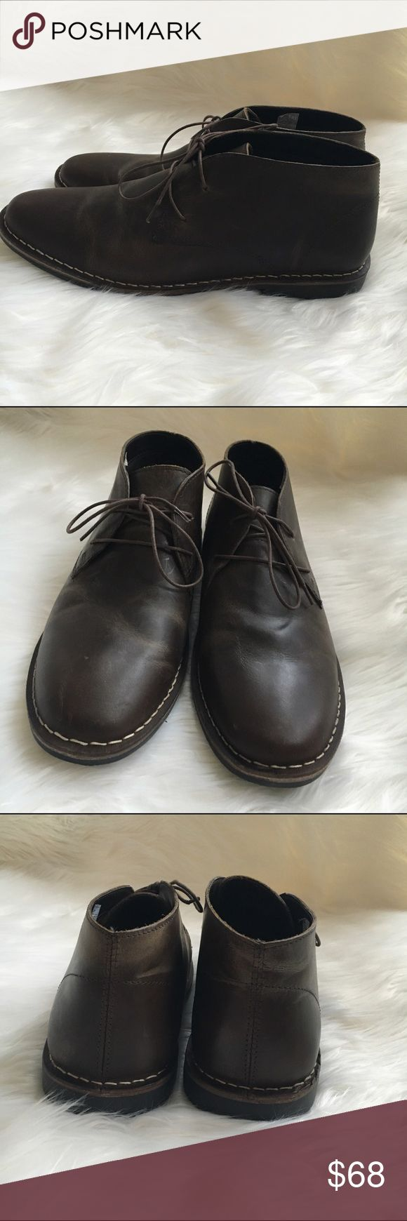 Men's Dark Brown Chukka boots.  NWOT Dark Chocolate brown Chukka boots . New! 🚫trades REDTAPE Shoes Chukka Boots