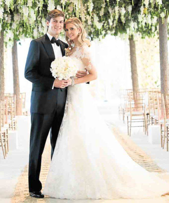Chelsea Clinton Wedding Gown: Ivanka Trump In VeraWang For Her Wedding To Jared Kushner