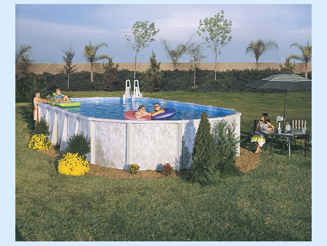54 best above ground pools images on pinterest swiming - Above ground swimming pool supplies ...