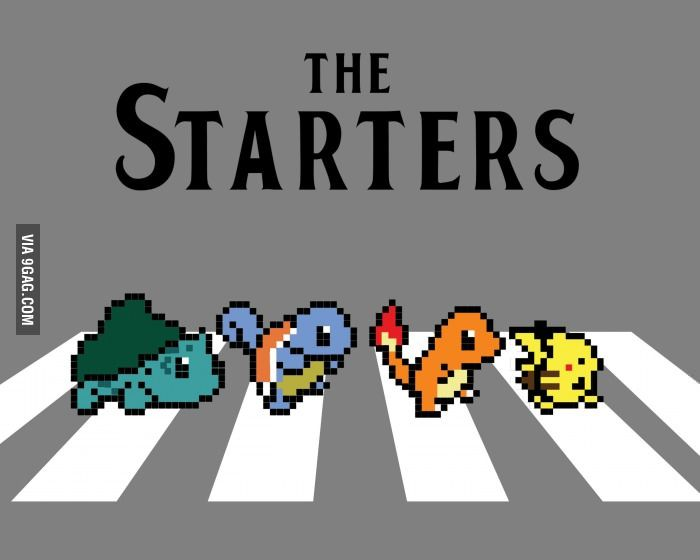 With all the Pokemon X and Y hype going on, let's take a moment to honor the original starters