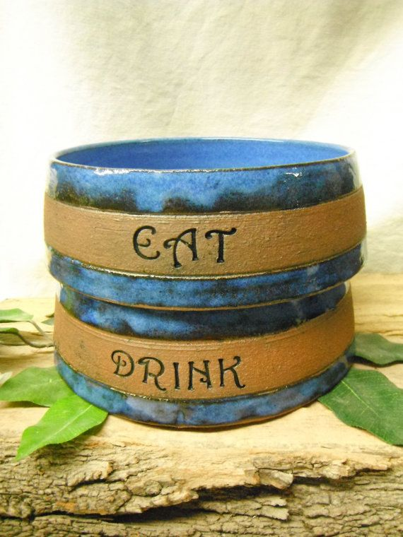 CHOOSE YOUR TEXT, CHOOSE YOUR COLOR!! This listing is for ONE Medium size personalized dog bowl or pet bowl. Customize your own special dog