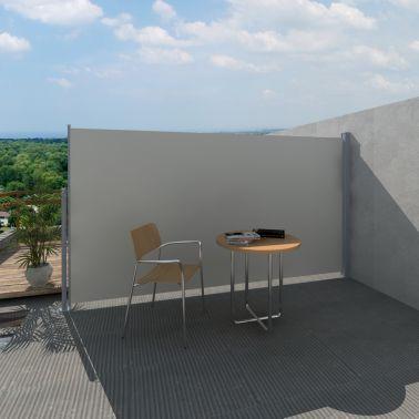 Uittrekbaar wind- / zonnescherm 180 x 300 cm crème [1/6]