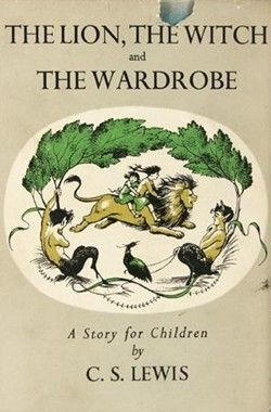 """The Lion, the Witch, and the Wardrobe (Chronicles of Narnia, #1) by C. S. Lewis. Did you know the famous Narnia adventures started when the four Pevensie children were on summer """"holiday""""?! Start your own Narnia adventure this summer."""