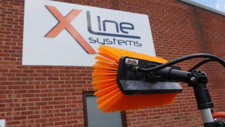 New Evo-Lite Sill Brush for Window Cleaning http://xline-systems.co.uk/xline-shop/water-fed-poles-accessories