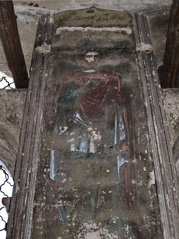Ивановская  обл.  С.  Никольское.  В  церкви  сохранились  росписи.