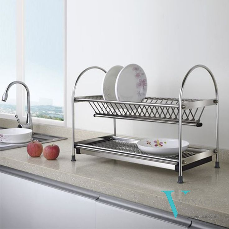 Just one attractive space-saving dish rack helps solving problem of lack of draining space for the plates. Different sizes available; easy, simple and quick assembly. As a professional kitchen accessories manufacturer, supplier& exporter, we provide the best quality kitchen baskets at reasonable price. Contact with us for more information. www.venace.com