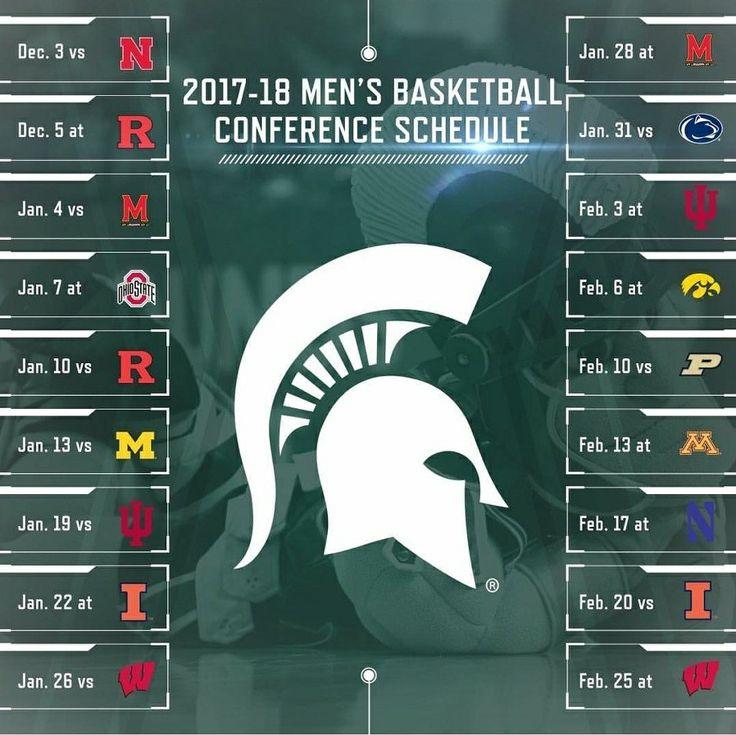 Schedule 2017-18  Basketball .