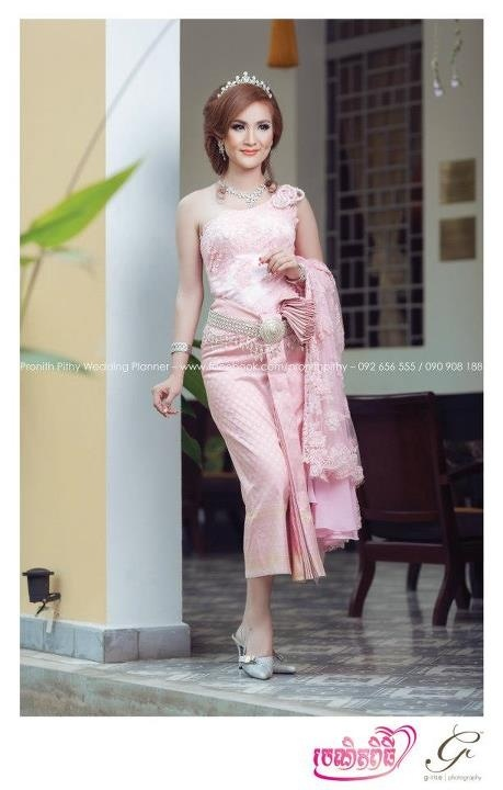 Cambodia Wedding Dress With Cambodian Traditional
