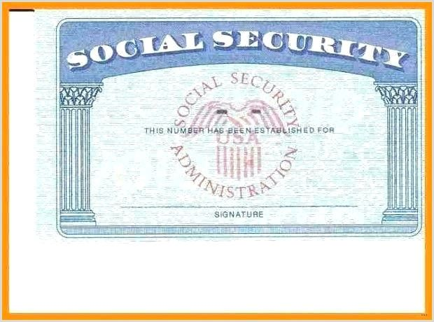 Blank Social Security Card Template With Seal Social Security Template Chanceinc Free Business Card Templates Social Security Card Card Template