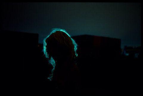 between the light // photography // lighting // art // artistic // neon // aesthetic