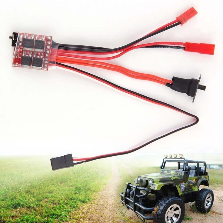 20A ESC Brushed Motor Speed Controller With Brake for RC Cars Boat Tank Truck remote helicopter radio controlled A676 #Affiliate #radiocontroldiy