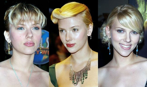 Scarlett Johansson Hairstyles with Bangs