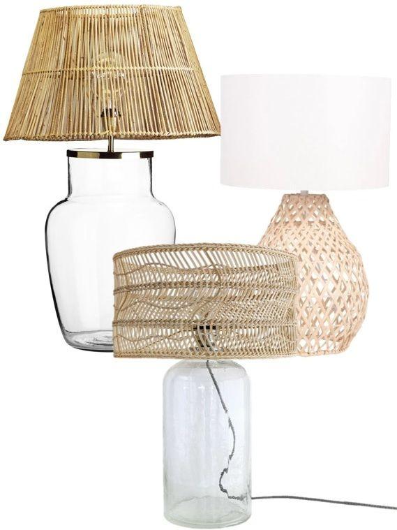 Abat-jour Rotin Pour Lampe : abat-jour, rotin, lampe, Lampe, Rotin