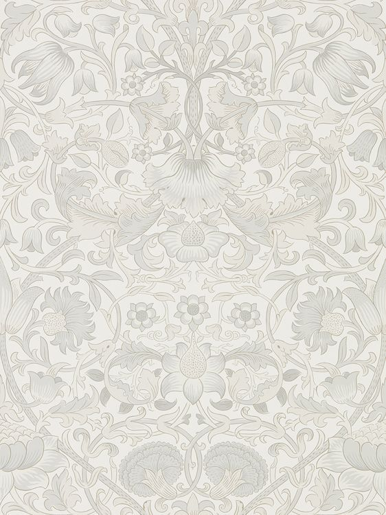 Pure Lodden Chalk / Eggshell wallpaper by Morris