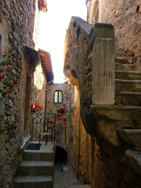 Castelvecchio (Old Castle), L'Aquila, Abruzzo, Italy