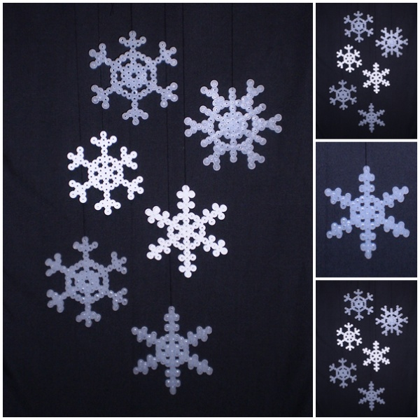 Hama Snowflakes http://www.ecrafty.com/casearch.aspx?SearchTerm=snowflake