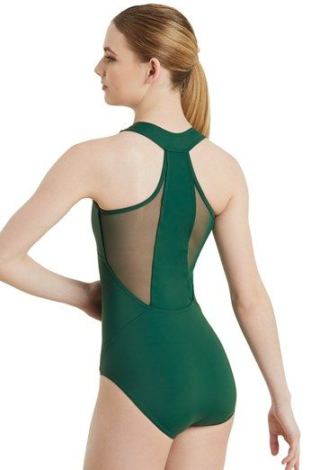 5e035f347 T Back Leotard With Mesh