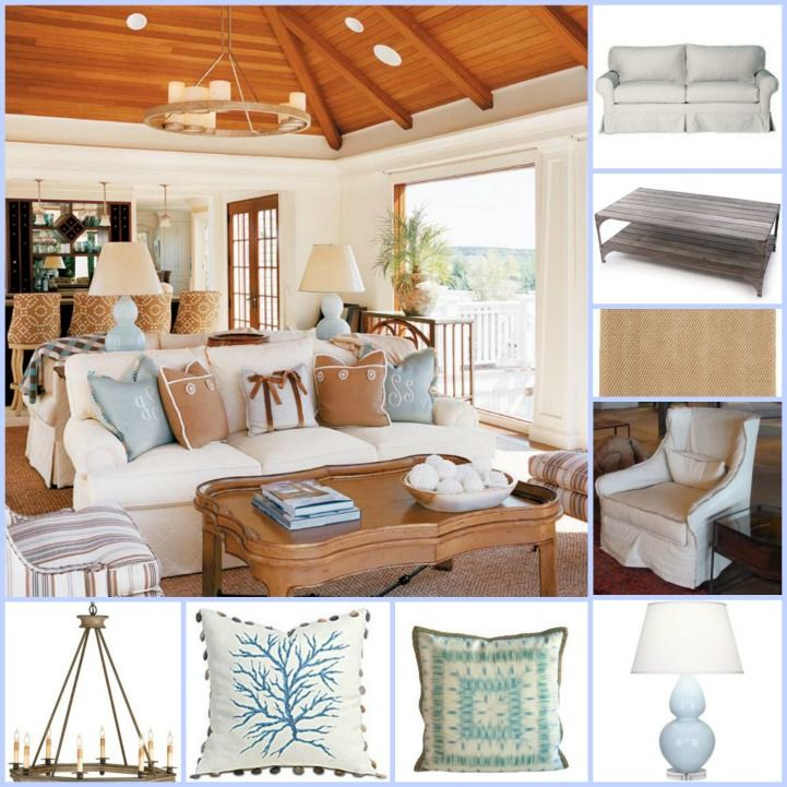 Knot This But That: Coastal Shopping  Coastal Cape Cod Living Room