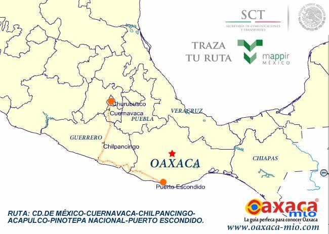 Como llegar a Puerto Escondido Oaxaca (HOTELES DE PUERTO ESCONDIDO, HOTELES DE ZIPOLITE,HOTELES DE MAZUNTE,mapas,actividades,servicios tuisticos,fiestas de Noviembre y Puerto Blues) en Oaxaca Mio