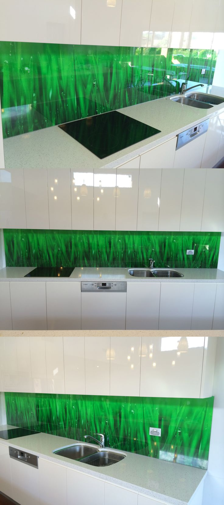 From designs and patterns to landscapes, we can use any image to create amazing glass splashbacks. This piece is a different take on a landscape print - produced to stunning effect!