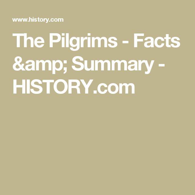 The Pilgrims - Facts & Summary - HISTORY.com