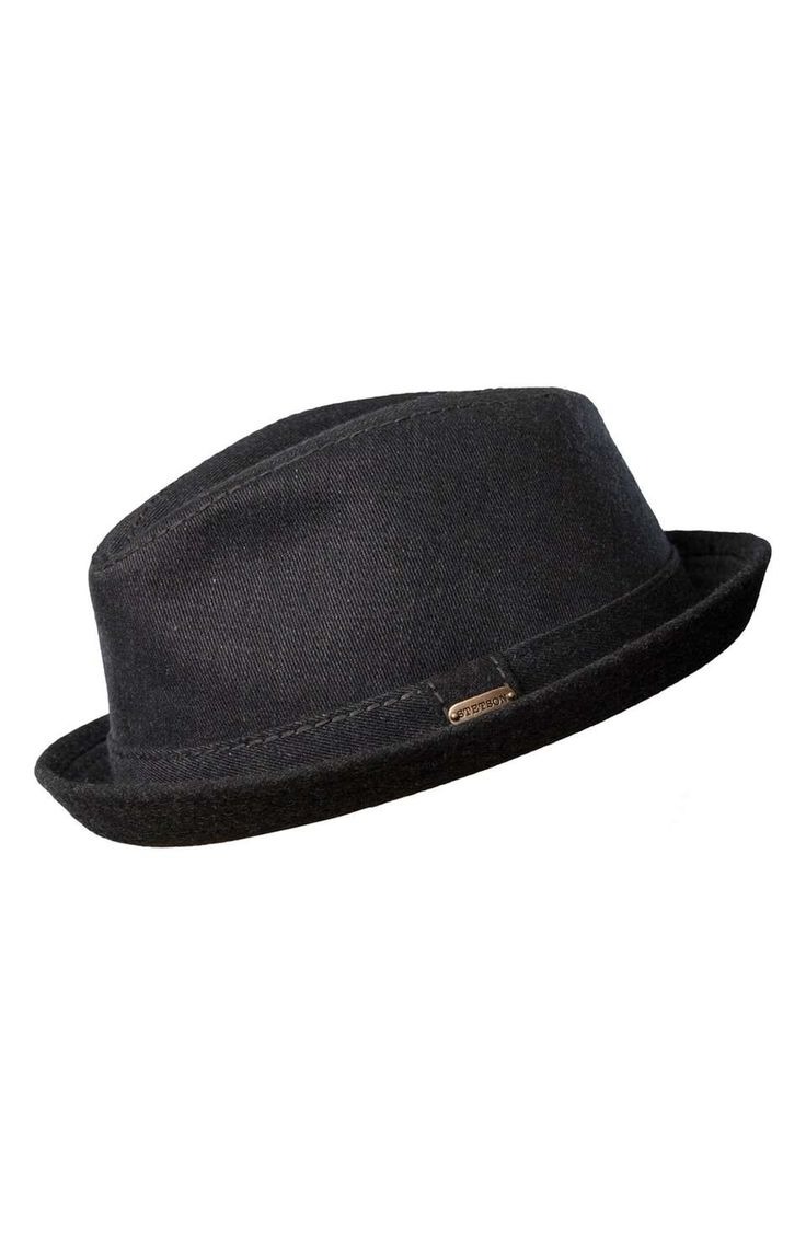Stetson 'Solvay' Trilby | $63 | gifts for guys | mens hat | menswear | mens style | mens fashion | wantering http://www.wantering.com/mens-clothing-item/stetson-solvay-trilby/af1f7/
