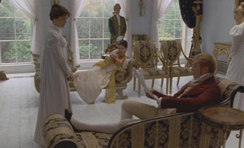 Regency style movie set: camden place 2 - Persuasion