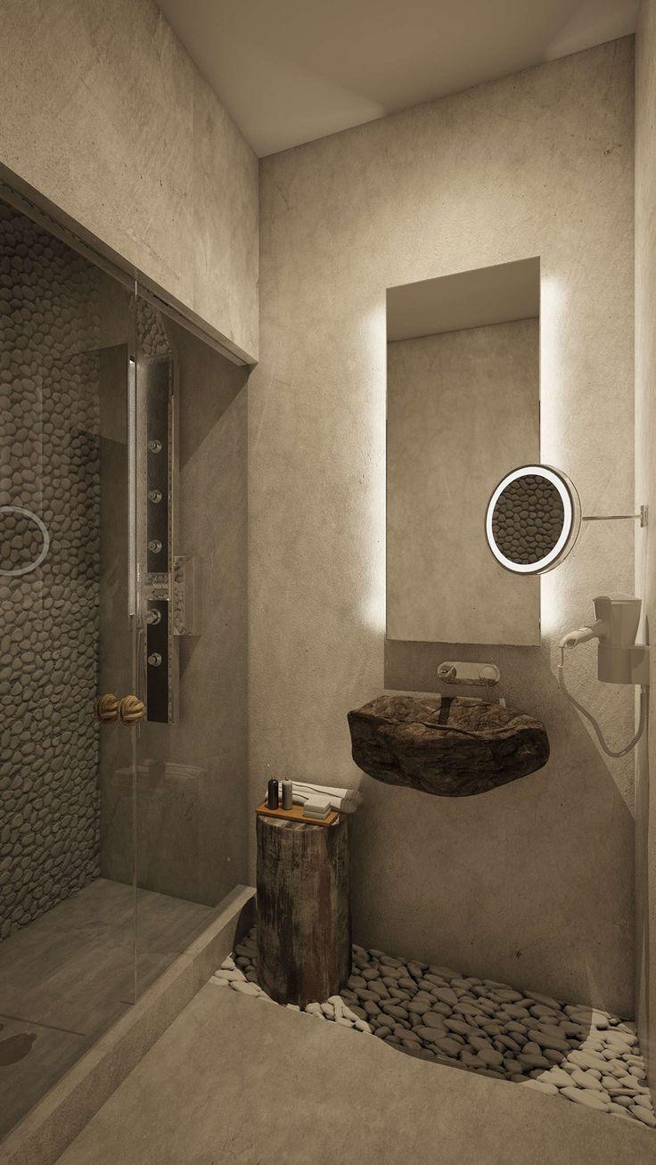 Kavos Junior Suite - Bathroom, Elakati Luxury Boutique Hotel, Rhodes , Greece