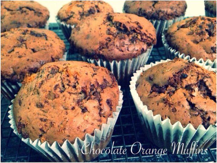 Chocolate Orange Muffins