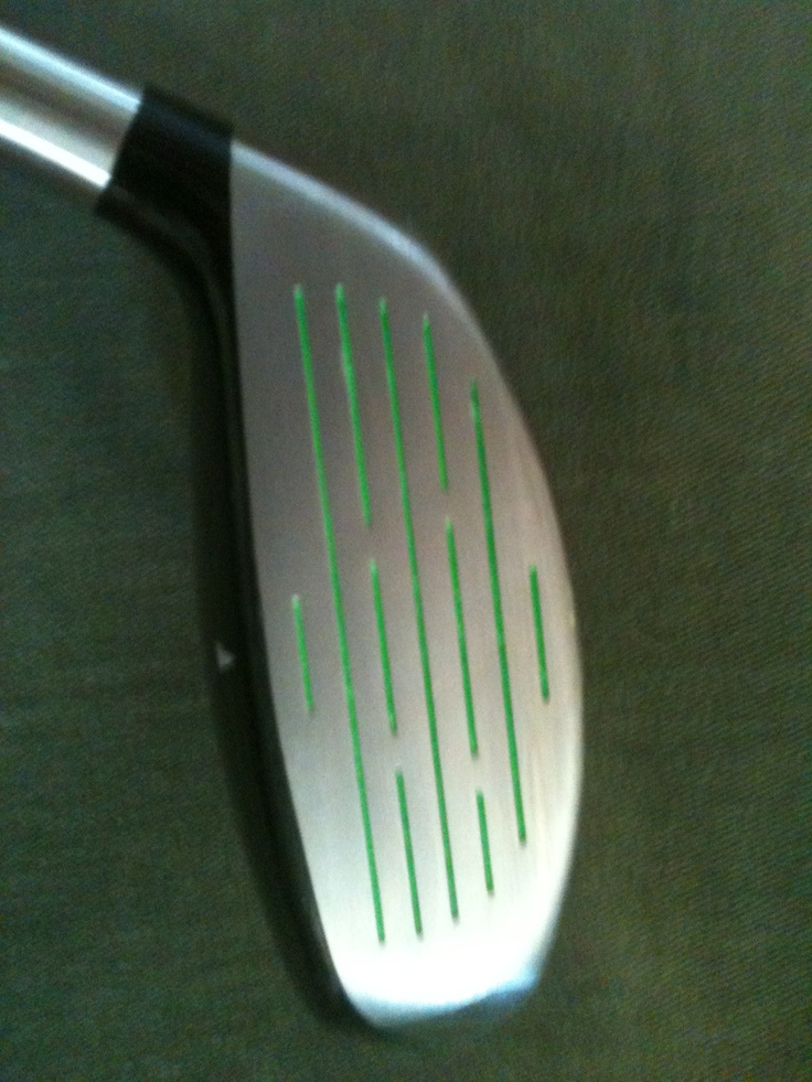 Custom Paint Fill Golf Clubs