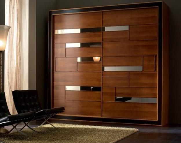25 best ideas about wardrobe design on pinterest for Sliding cupboard doors