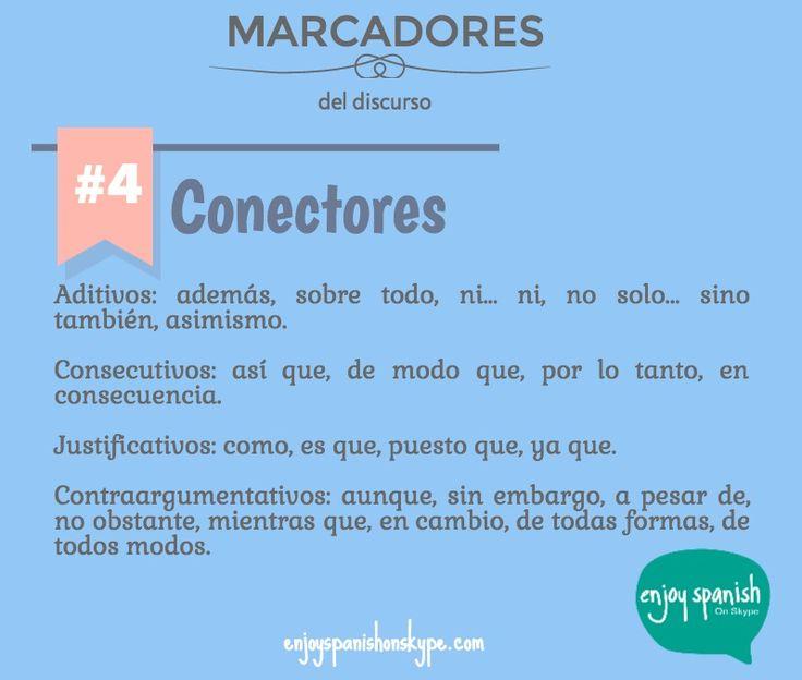 MARCADORES 4: Conectores