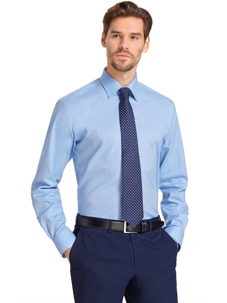 Niebieska koszula męska Wólczanka 149.90 - wolczanka.com.pl - Wolczanka.com.pl sklep internetowy