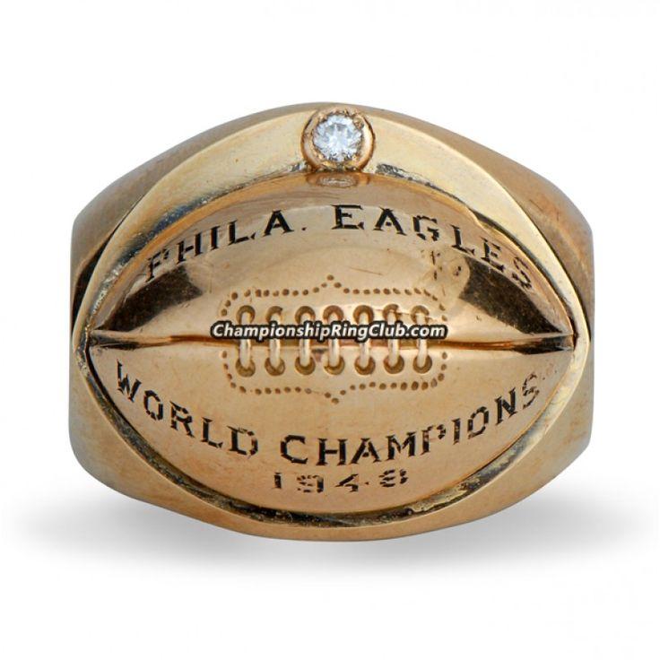 1948 Philadelphia Eagles Super Bowl Championship Ring - www.championringclub.com