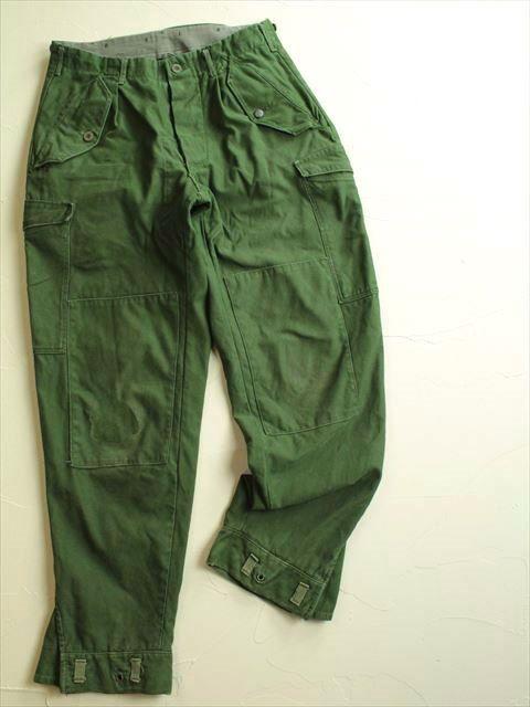 Ejército sueco Vintage M59 pantalones verdes por ChevaldeGuerre