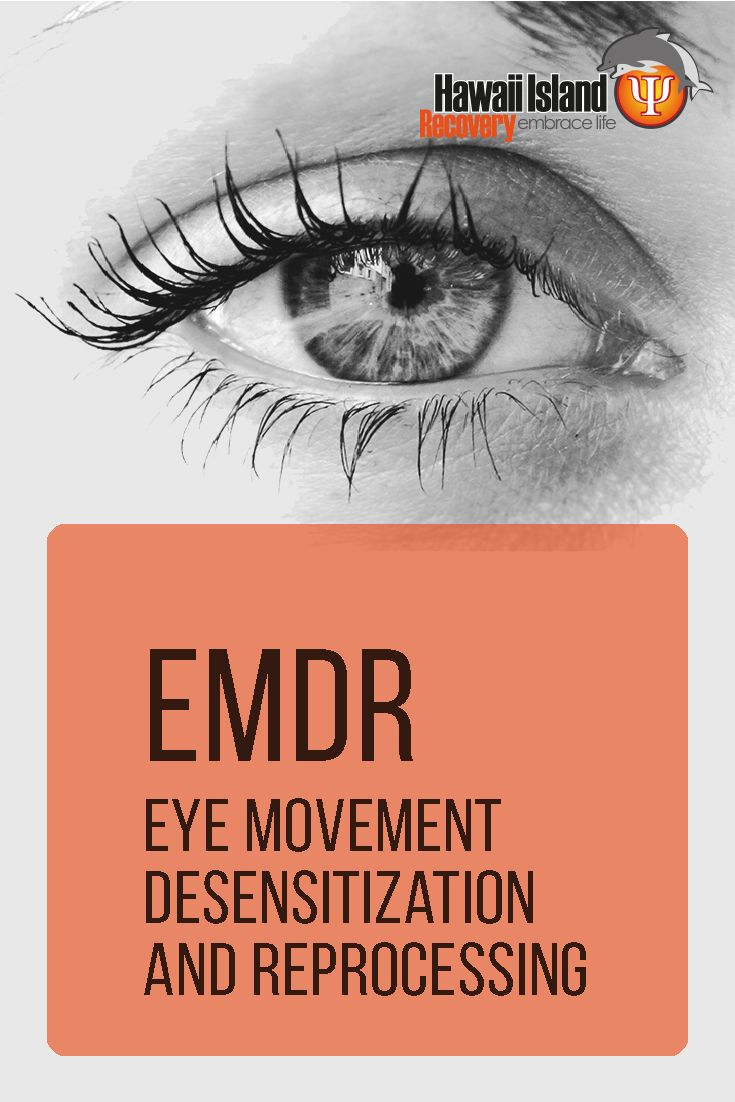 EMDR is a therapy used primarily in the treatment of patients who suffered a single traumatic event, such as rape, or are currently suffering from post-traumatic stress disorder (PTSD) | www.hawaiianrecovery.com | #addiction #recovery #hawaii #PTSD #EMDR