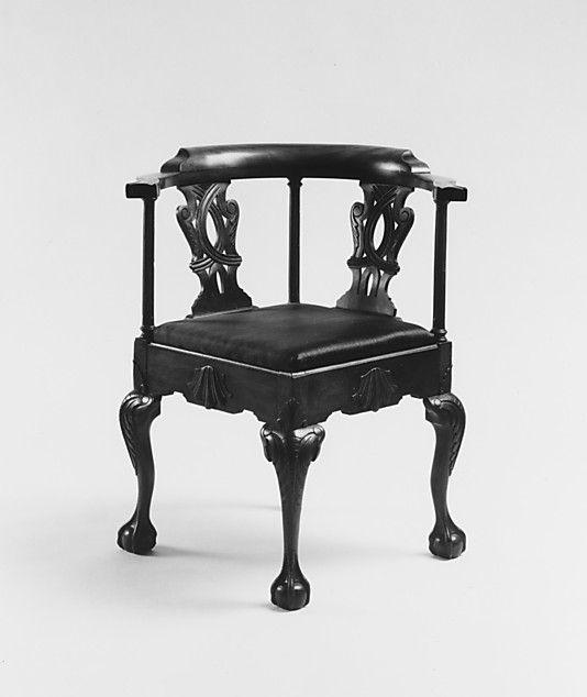 Corner Chair Sypher U0026 Co. (active Date: Geography: Mid Atlantic, New York  City, New York, United States Culture: American Medium: Mahogany