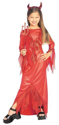 Pirullinen Diiva. Sisältää pirullisen punaisen mekon sekä sarvet.